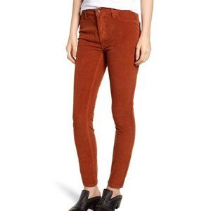 Free People Long and Lean Corduroy Jeggings sz 27